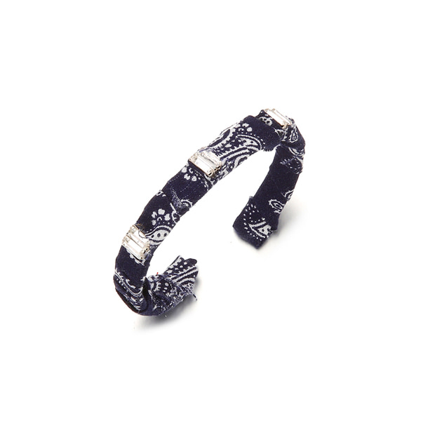 Paisley Crystal Bangle_2color