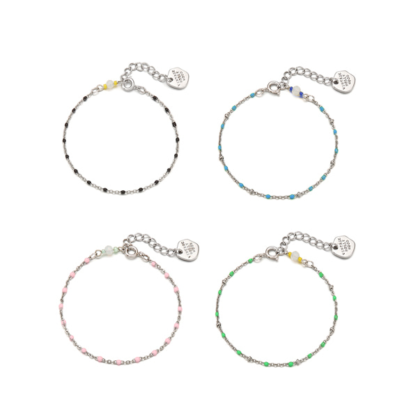 Color Dot Seed Bracelet_4color
